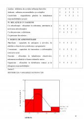 Motivatie si performanta in munca - Studiu in cadrul organizatiilor scolare