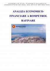 Analiza economico-financiare a Rompetrol Rafinare