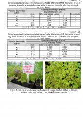 Studii privind influenta amestecului nutritiv asupra unor caractere morfologice ale plantelor la unele specii legumicole ornamentale