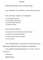 Politici de incluziune sociala si combatere a saraciei in Romania