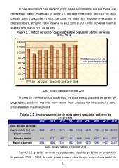 Consumul de servicii al populatiei