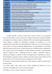 Analiza comparativa a managementului resurselor umane din administratia statelor membre ale Uniunii Europene